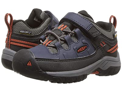 Keen Kids Targhee Low WP (Toddler/Little Kid) (Blue Nights/Roobios) Boy