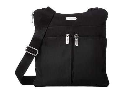 Baggallini Legacy Horizon Crossbody (Black/Sand) Cross Body Handbags