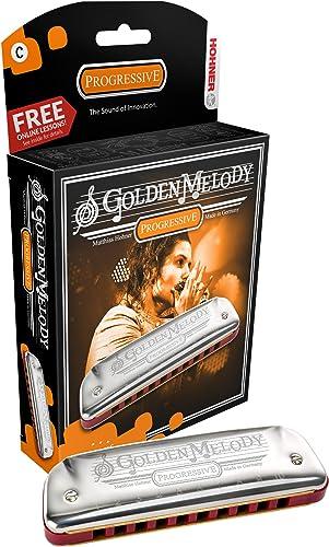 Hohner Harmonica Golden Melody en do