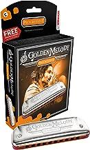 Hohner Golden Melody Harmonica, Key Of G Major