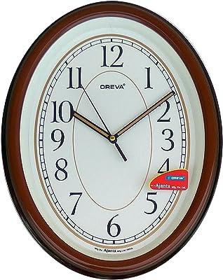 Oreva Oreva Wooden Finish Plastic Clock