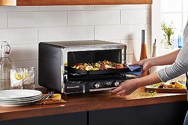 KitchenAid Digital Countertop Oven KCO211BM, Black Matte