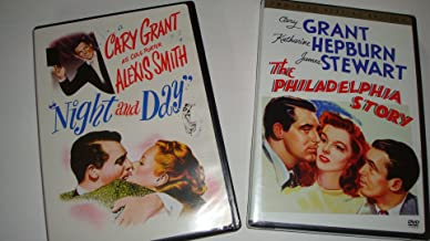 Night and Day DVD (1946) / Philadelphia Story 2-disc (1940) / Cary Grant 2-DVD Movie Pack