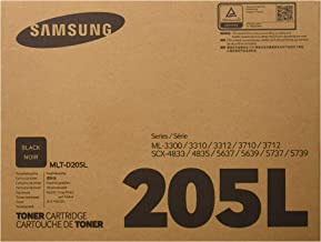 Samsung MLT-D205L Toner Cartridge Black, High Yield for...