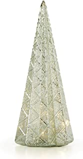 Lenox 887861 Wintery Woods Lit Mercury Glass Diamond Tree