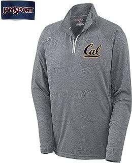 Shop College Wear UC Berkeley Cal Jansport Men's 1/4
