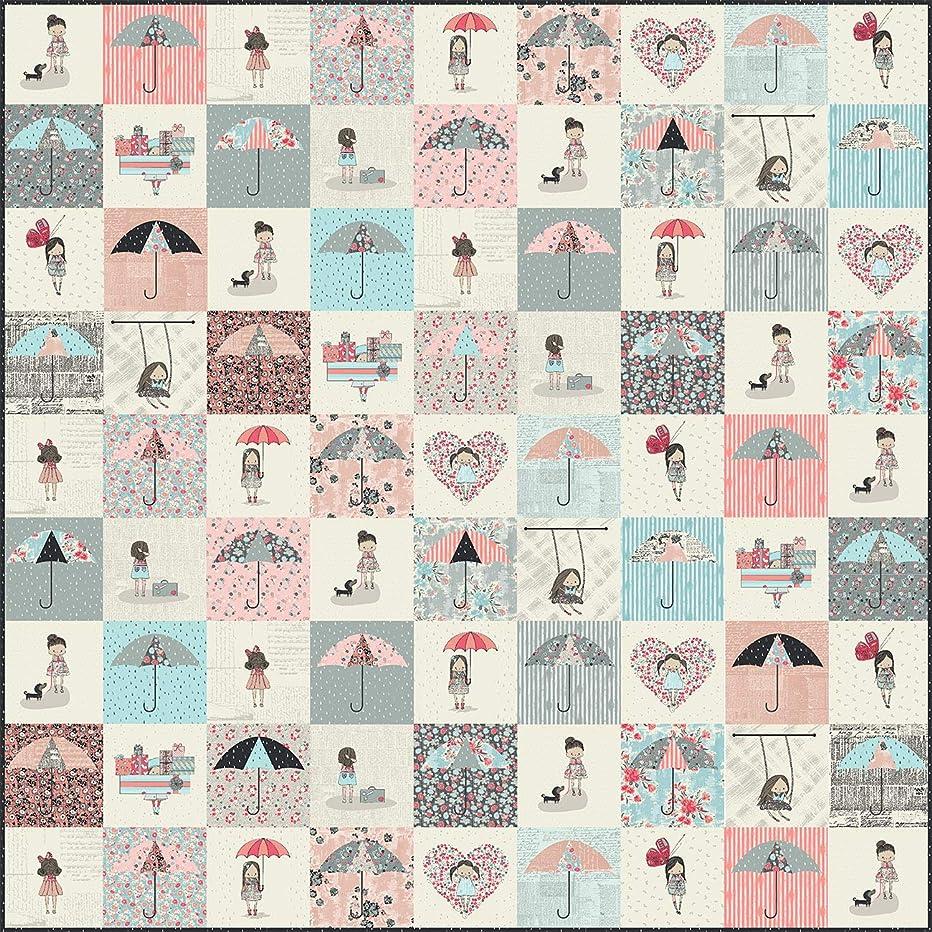 Sue Daley Designs SDWRDQ Rainy Days Quilt Pattern