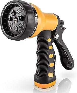 Etronic Heavy Duty Garden Hose Nozzle Spray Nozzle Hand Sprayer