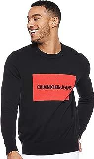 Calvin Klein sweatshirt for men in Black, Size:Medium