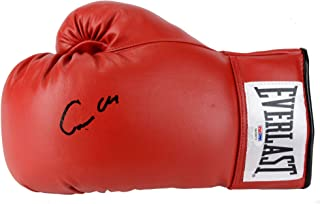 Muhammad Ali Cassius Clay Autographed Red Everlast Boxing Glove - PSA/DNA Certified - Autographed Boxing Gloves