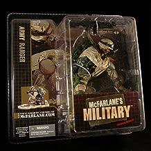 McFarlanes Military Army Ranger African American Variation Series 1 Action Figure & Display Base