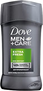 Dove Men + Care Antiperspirant Deodorant, Extra Fresh, 2.7 Ounce (Pack of 2)