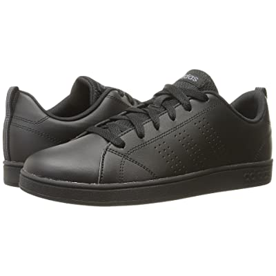 adidas Kids VS Advantage Clean (Little Kid/Big Kid) (Black/Onix) Kids Shoes