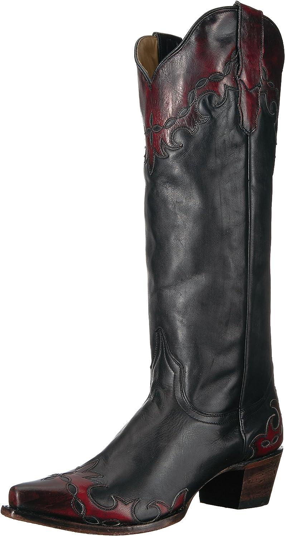 Stetson Womens Raven Western Boot