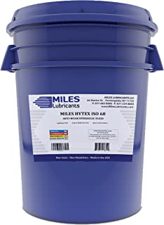 Miles Hytex ISO 68 Anti Wear Hydraulic Fluid 5 Gallon Pail