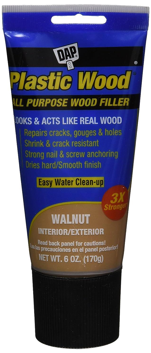 DAP 584 Series 00584 6oz Walnut Latex Plastic Wood