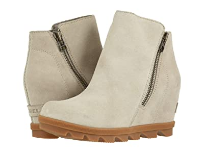 SOREL Joan of Arctictm Wedge II Zip (Soft Taupe) Women