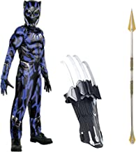 Party City Black Panther Deluxe Muscle Costume with Props for Children, Size Medium, Includes Okoye Spear and Slash Claw