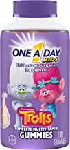 One A Day Kids Trolls Multivitamin Gummies, 180 Count