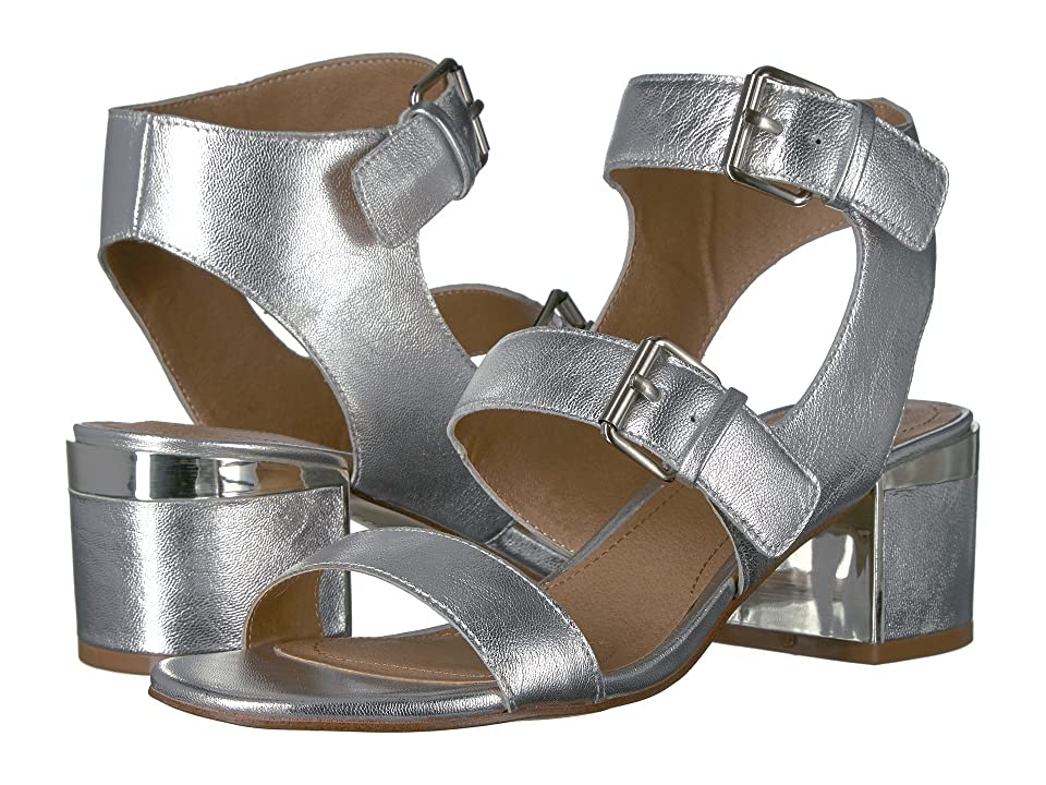 Tahari Dalton (Silver Jersey Metal) High Heels