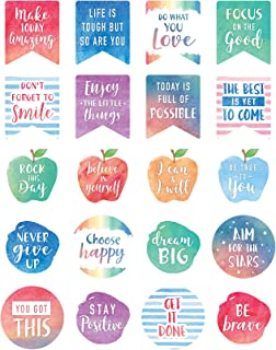 Watercolor Words to Inspire Planner Stickers