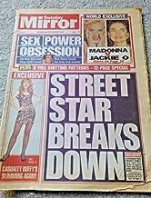 Sunday Mirror Newspaper - September 26, 1993 - Madonna vs. Jackie Onasis - Cindy Crawford - Cyndi Lauper