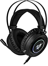 Redgear Cloak RGB Gaming Headphones with Microphone for PC