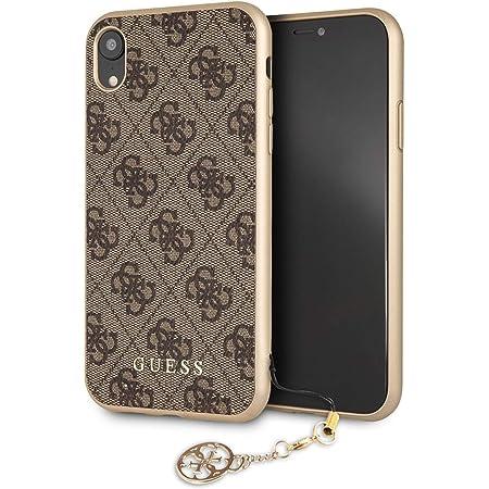 Guess - Charms 4G - Apple iPhone XR Hülle Cover Case Handyhülle Schutzhülle, Braun