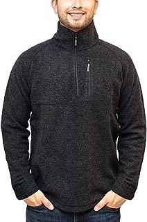 Woolx Denali - Men's Full Zip Up Merino Wool Jacket - Heavyweight Warmth Without The Bulk