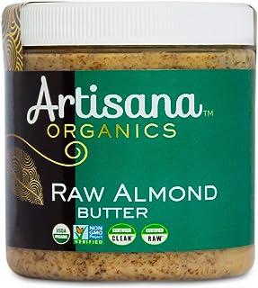 Sponsored Ad - Artisana Organics Non GMO Raw Almond Butter, 9 oz   No Sugar Added, Vegan Paleo and Keto Friendly