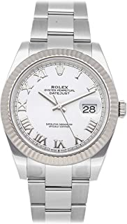 Rolex Datejust Mechanical (Automatic) White Dial Mens Watch 126334 (Certified Pre-Owned)