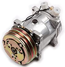 ECCPP Compatible fit for AC Compressor and AC Clutch CO 9285C Automotive Replacement Compressor Assembly for 1985-1990 Jeep CJ7 Cherokee Wrangler 4.2L 2.5L Compressors