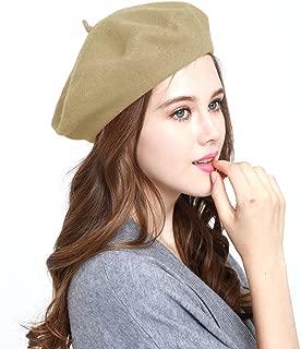 WW004 Winter 100% Wool Warm French Art Basque Beret Tam Beanie Hat Cap
