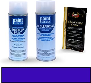 PAINTSCRATCH Still Night Blue Pearl B-575P for 2017 Honda Accord - Touch Up Paint Spray Can Kit - Original Factory OEM Automotive Paint - Color Match Guaranteed