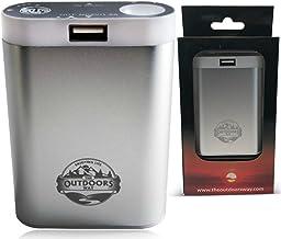 دست گرم کن برقی در فضای باز ، لوازم جانبی قابل شارژ برای شکار و ورزش های زمستانی! Handwarmer شامل شارژر تلفن + چراغ قوه LED + گزینه کیف حمل + 2 رنگ است.