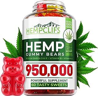 HEMPCLIFS Hemp Gummies 950,000 – Fruity Relaxing Hеmp Oil Gummies – Stress & Anxiety Relief – Effective Bra...