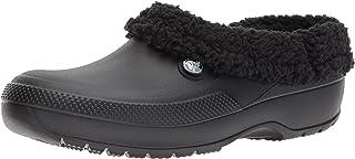 Crocs Men's and Women's Blitzen III Clog | Indoor or Outdoor Warm and Fuzzy Shoe