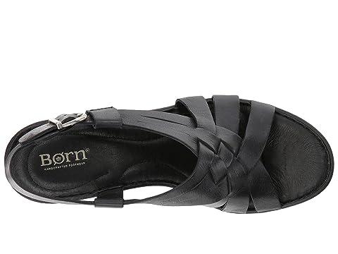 Full Crevalle Leather Black Grain Born xwBZ010