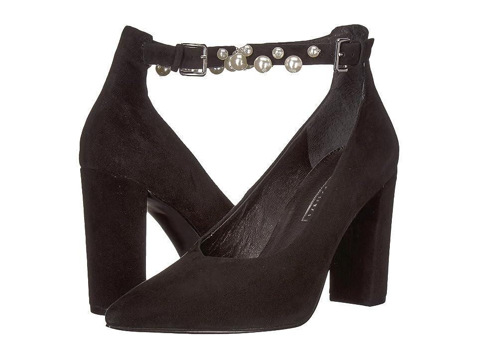 Sol Sana Isla Heel (Black Suede Pearl) High Heels