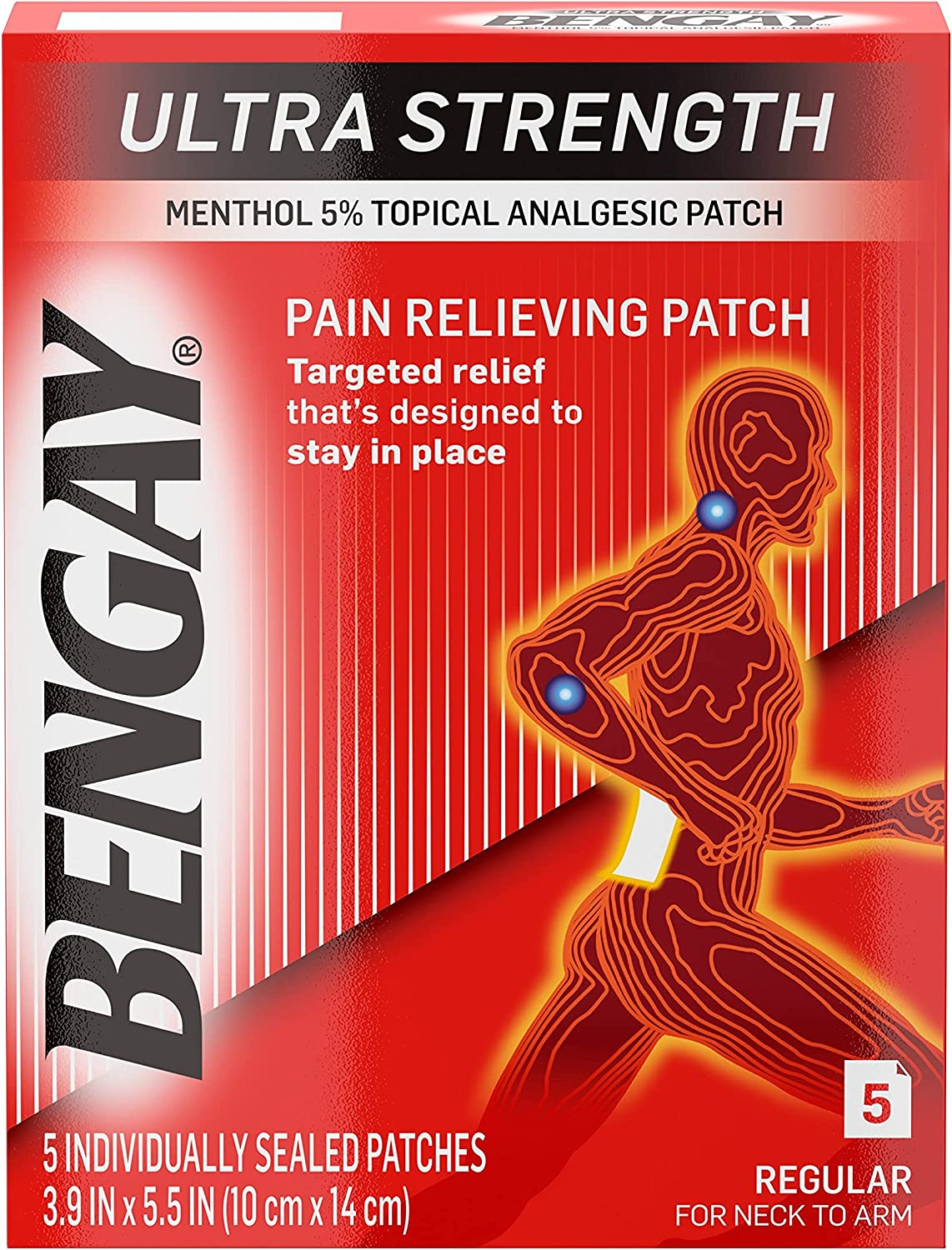 Super-cheap Ultra Inventory cleanup selling sale Strength Bengay Pain Relief Muscle for Patch Regula