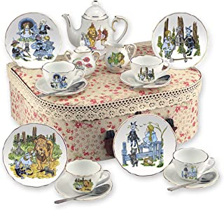 Reutter Porcelain Wizard of Oz Tea Set with Hamper Case - Medium