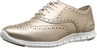 Cole Haan Womens D44060 Zerogrand Wing-tip Oxford