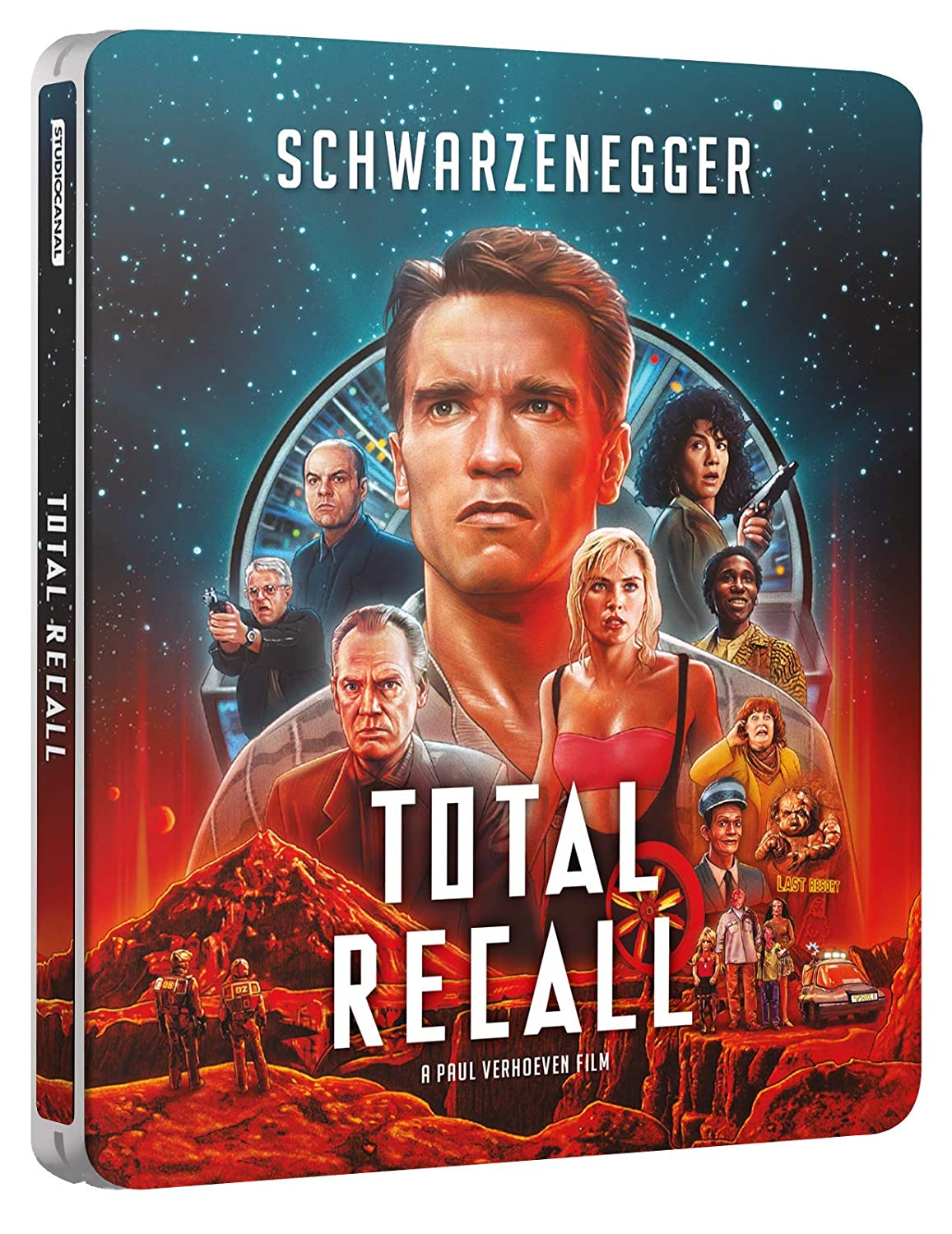 Total Recall Steelbook Blu-ray 2020 Selling and New York Mall selling