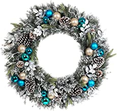 Best blue holiday wreath Reviews