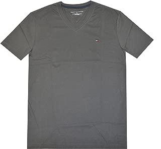 TOMMY HILFIGER Men V-Neck Classic Fit Logo T-Shirt