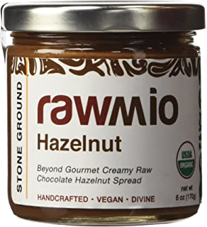 Rawmio, Spread Chocolate Hazelnut, 6 Ounce