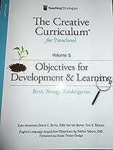 creative curriculum objectives