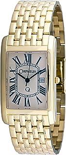 ORPHELIA - mon-7055 - Reloj analógico de Cuarzo para Hombre, Correa de Dorado Color Dorado