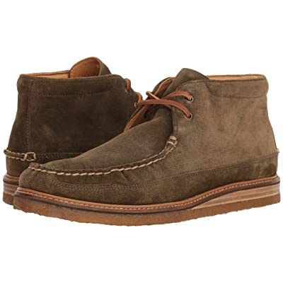 Sperry Gold Crepe Chukka Suede (Olive) Men