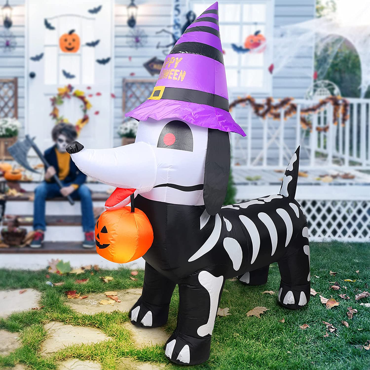 6 FT Halloween Inflatable Super Special Free Shipping Cheap Bargain Gift SALE held Outdoor Inflatab Decorations